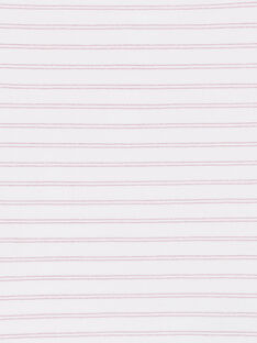 Set 2 canottiere rosa e bianche bambina LEFADELFRU / 21SH1122HLI301