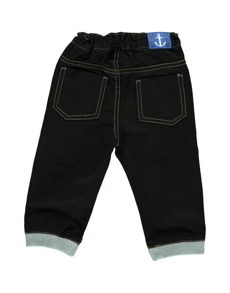 Baby boys' sportswear jeans CUBENJEAN / 18SG10G1JEAK003