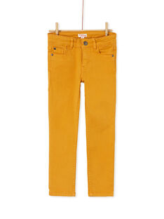 Yellow PANTS KOJOPATWI2 / 20W90239D2B107