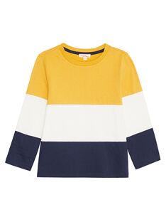 Golden yellow LONGSLEEVE T-SHIRT KOJOTIDEC2 / 20W9023DD32106