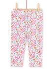 Leggings multicolore neonata LYIVILEG / 21SI09U1CAL000