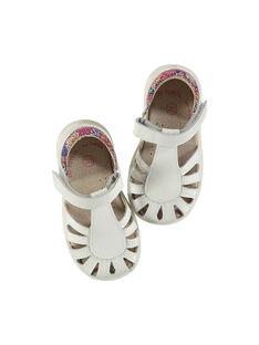 Sandali da città pelle neonata FBFSANDPIX2 / 19SK37D1D0E000