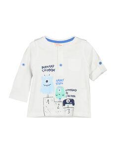 T-shirt maniche lunghe neonato FUNETUN / 19SG10B3TML000