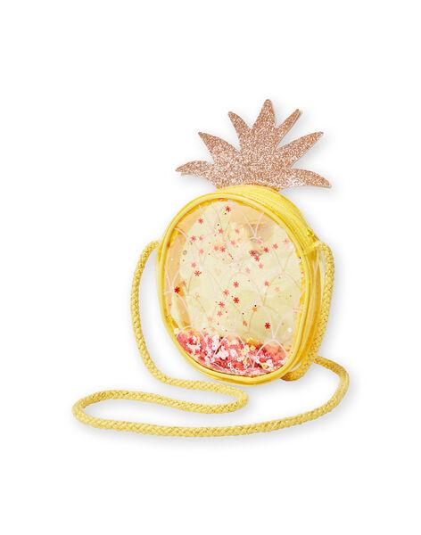 Borsa a tracolla ananas gialla bambina LYAJAUBAG / 21SI01O1BES116