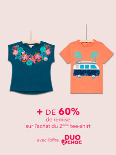 OPERAZIONE DUO : T-shirts per Bambina e Bambino