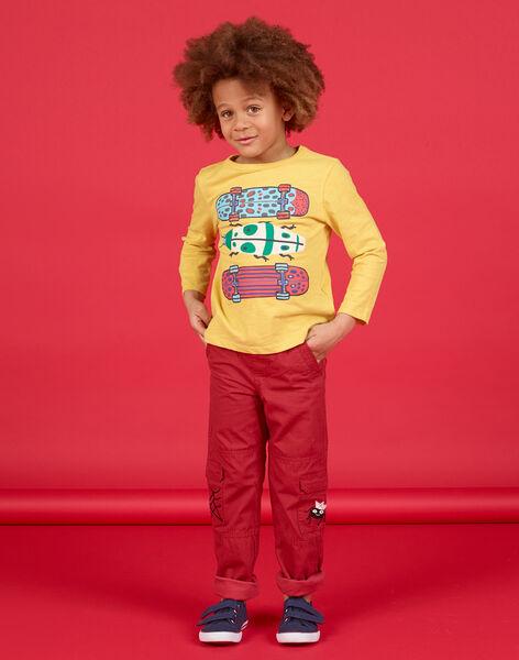 Pantaloni cargo rosso - Bambino LOROUPAN / 21S902K1PANF506