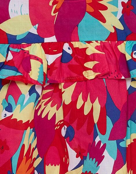Abito senza maniche con stampa pappagallo JAMAROB1 / 20S901P2ROB000