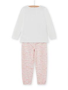 Set pigiama t-shirt e pantaloni motivo gatti bambina MEFAPYJCAT / 21WH1184PYJ001