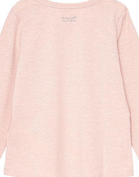 T-Shirt Maniche Lunghe Rosa JAESTEE4 / 20S90162D32D328