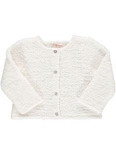 Baby girls' fancy knit cardigan DIGICAR2 / 18WG09N2CAR001