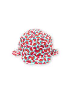 Cappello bianco neonata LYICHAEX / 21SI09D2CHA000