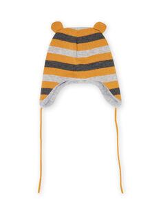 Berretto in maglia a righe neonato MYUGROBON2 / 21WI1061BONJ920