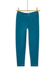 Dark Turquoise LEGGINGS KYAJOLEG2 / 20WI0132D26C217