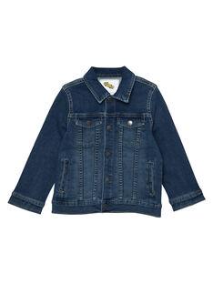 Giacca in jeans bambino in denim stretch JOGROVES / 20S902I1VESP274