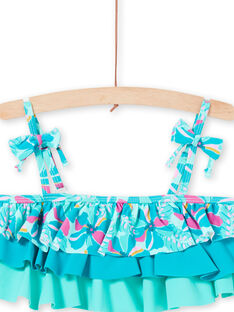 Bikini turchese bambina LYABIK2 / 21SI01DCMAIG621