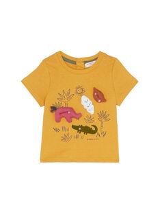 T-Shirt Maniche Corte Marrone JUDUTI1 / 20SG10O1TMC804