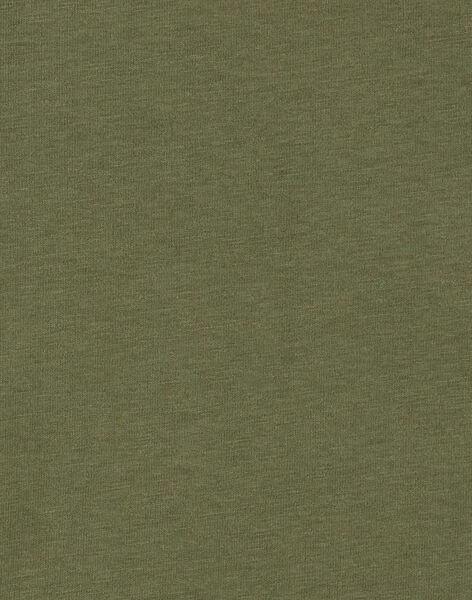 Green T-SHIRT KOBOTEE4 / 20W902N4TMLG607