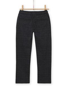 Pantaloni milano grigio antracite bambino MOTUPAN1 / 21W902K1PAN944