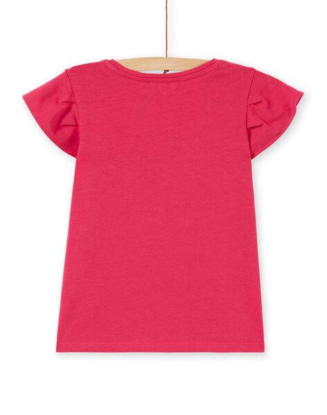 T-shirt rosa con motivo gatto LAJOTI1 / 21S90133D31F507
