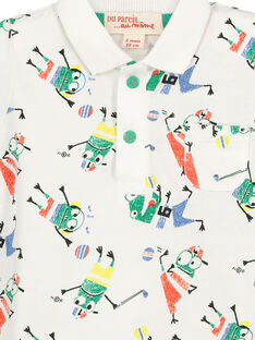 Polo fantasia neonato FUCAPOL / 19SG10D1POL099