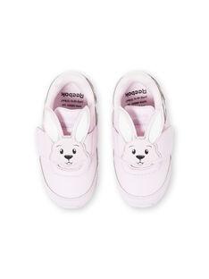 Sneakers rosa chiaro neonata JBFFU6659 / 20SK37Y1D36301