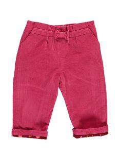 Baby girls' velour trousers DIPINPAN / 18WG09P1PAN302