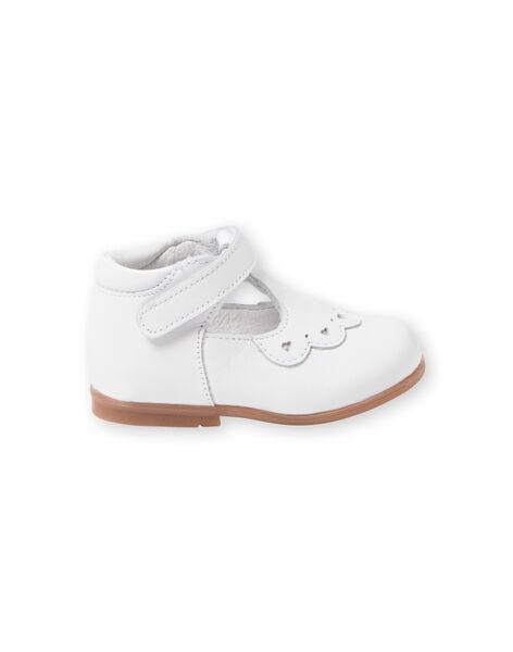 Scarpe baby bianche neonata LBFSALCOEUR / 21KK3733D13000