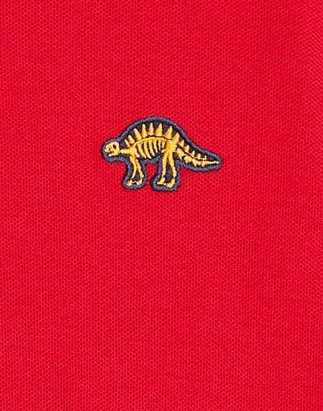 Red POLO SHIRT KOJOPOL4 / 20W90251D2DF518