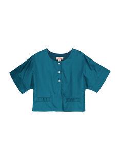 Cardigan maniche corte bambina FABELCARDI / 19S901R1CAR616