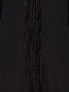 Black Longsleeve T-SHIRT GAJOSTEE1 / 19W90135D32090