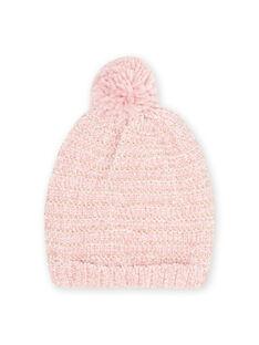 Berretto rosa in ciniglia bambina MYAROSBON / 21WI0157BOND332