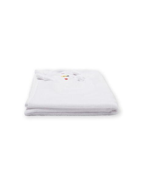 Copertina bianca in velluto LOU1COUV / 21SF42H1D4P000