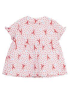 Camicia con stampa neonata JICEACHEM / 20SG09N1CHE000