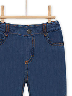 Jeans denim medio neonato MUPLAJEAN / 21WG10O1JEAP274