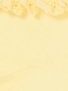 Calze gialle bambina LYAJAUSOCK / 21SI01O1SOQ116