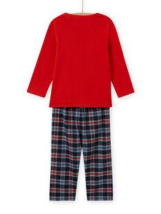 Completo pigiama con motivo extraterrestre bambino MEGOPYJSPA / 21WH1284PYJE414