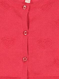 Cardigan in cotone neonata FICOCAR3 / 19SG0983CAR050