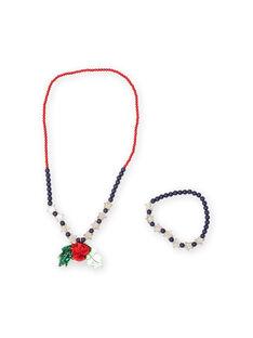 Collana di perle colorate Natale bambina MYANOSET / 21WI01T2CLI961