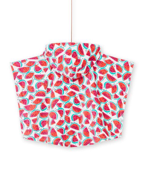 Mantellina da bagno cocomeri neonata LYICAP / 21SI09D1CDB000