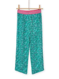 Completo pigiama con motivo fantasia coccodrillo bambina MEFAPYJCRO / 21WH1182PYJ001