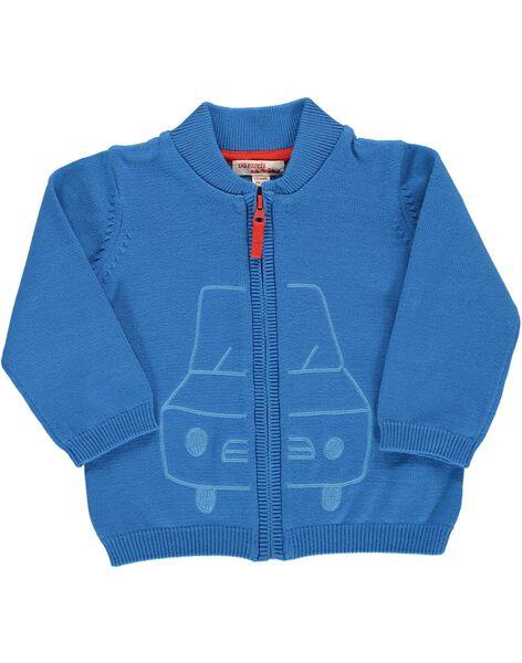 Baby boys' cotton cardigan CUJOGIL1 / 18SG10R1GIL201