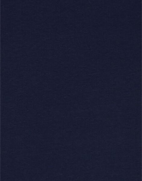 T-shirt blu scuro con motivo elefante LAJOTI4 / 21S90131D31C205