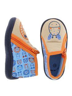Baby boy's boot slippers CBGBOTZEBR / 18SK38X4D0A080