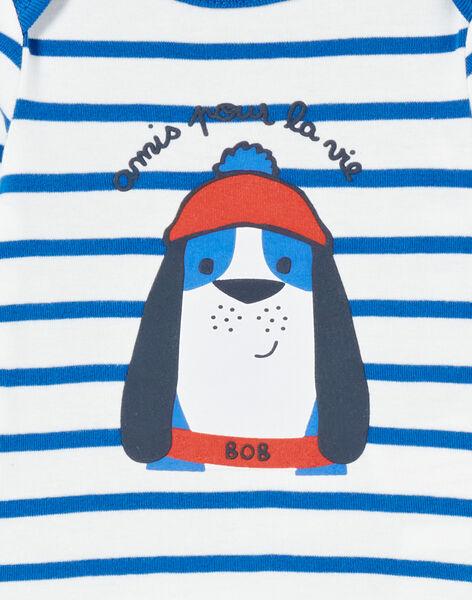 Body corredo bambino a maniche lunghe a righe cagnolino marinaio LEGABODOG / 21SH142ABDL001