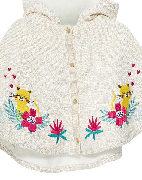Mantella in maglia neonata JIVICAPE / 20SG09I1CPE001