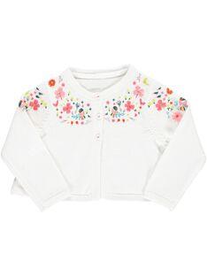 Baby girls' bolero cardigan CIFRICAR3 / 18SG09H3CAR000