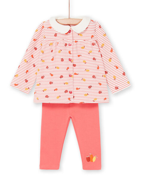 Completo comfort Blusa & leggings Bambina LINAUENS2 / 21SG09L1ENS318