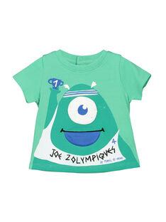 T-shirt maniche corte neonato FUNETI1 / 19SG10B1TMC602