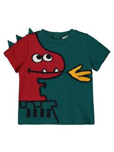 T-shirt maniche corte con stampa bambino GUVETEEEX / 19WG1021TMC608