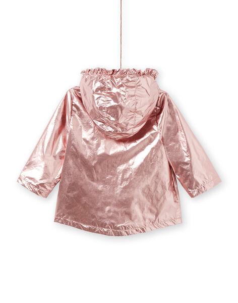 Parka rosa ramato neonata LIFANPARK / 21SG09R1PAR030